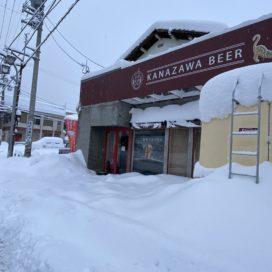 大雪の金沢